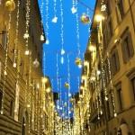 街はクリスマスムード