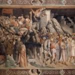 アーニョロガッディの《聖十字架伝説》の一部