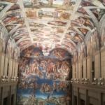 11月に行くしシスティーナ礼拝堂の再現