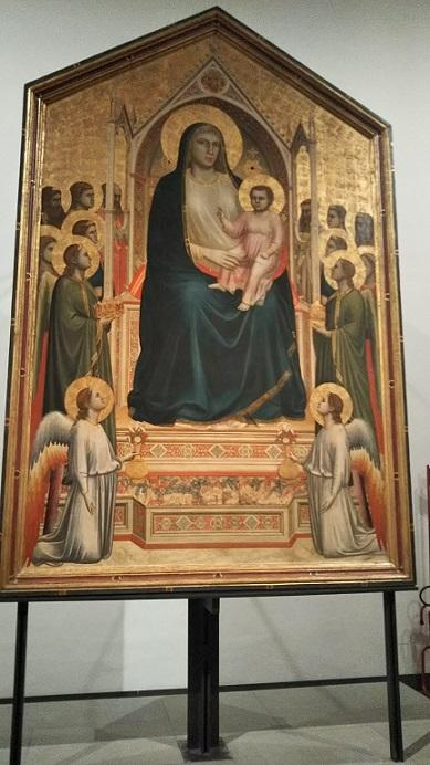 ジョット《荘厳の聖母》ゴシックからルネサンスへの転換点の重要な作品