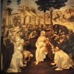 ダヴィンチ《マギの礼拝》 未完の作品