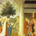 ピエロの《聖十字架伝説》の一部