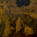 ウフィツィ美術館所蔵の 《東方三博士の礼拝》