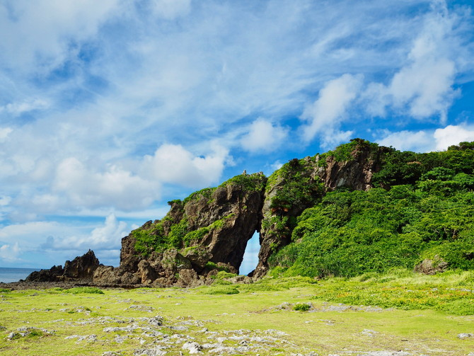 久米島の観光スポット「ミーフガー」