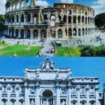 ローマでの司会は