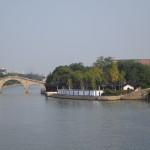 ゆったり流れる京坑大運河