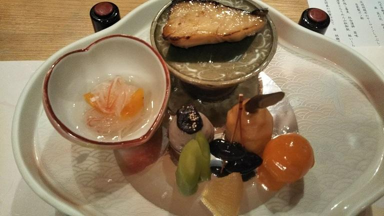 大晦日の夜は和食コース