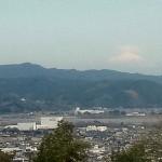 富士山も応援