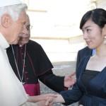 藤吉さんとローマ法王