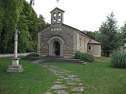 ランスにあるフジタ礼拝堂