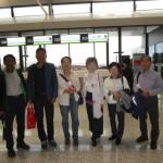 ガイドの劉さんと虹橋空港でお別れ