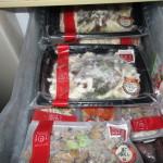 冷凍庫にちょうど収まる量でした!
