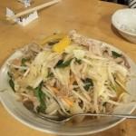 豚肉たっぷりの野菜炒め