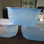3箱が水で満タン