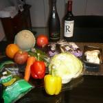 パプリカ ズッキーニ ナス トマト これで何ができるかわかる人は料理好き!!