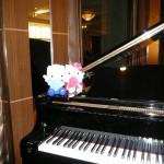 土曜日の新婦はピアニストだったのです。