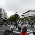 鎌倉駅前は人が一杯!でも去年はもっと多かった!!