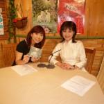 番組司会の袴田さん。楽しく進行ありがとうございました。