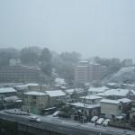 ここはどこ?と言う雪景色!