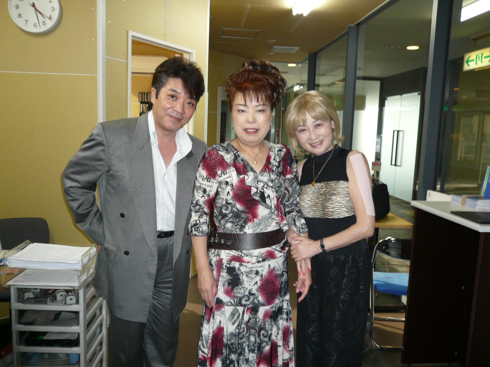 演歌歌手みずき小夜子さんと西川ひろしさん