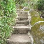 初めは延々と階段が続くのでここは無理して走ることはないだろう!