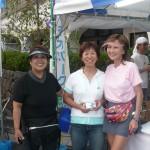野辺山のウルトラウーマンミッチーこと鈴木美智子さんと坂本夫人