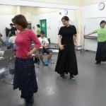 フラメンコの群舞も音と合わせを!