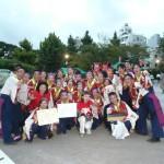 祭りWAIWAIヨコハマ」チームは準優勝と旗振りのグランプリを獲得