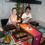テーブルランナーはベトナムで買った物