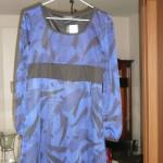 黒の「NICOLE」のあのパンツを合わせて披露宴の司会の衣装に!