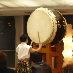 TAKERUさんの太鼓に魂を揺さぶられ・・・