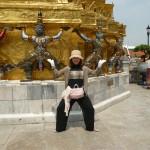 こちらはタイのエメラルド寺院