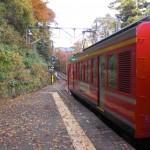 箱根登山鉄道で宮ノ下へ