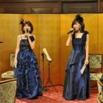 クラシカルな会場に合わせドレスを新調