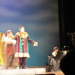 舞台上のジーコさん