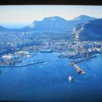 我々の船も寄港したパレルモ港