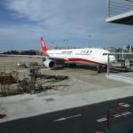 上海虹橋空港へ到着