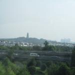 虎宮の塔の見える蘇州を後にして