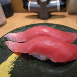 藤沢のお寿司屋さん中トロ