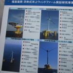 脱原発、水上風力発電