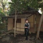 東博の庭園も素敵