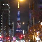 東京タワーもハロウィンカラー