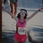 年代別優勝したホノルルマラソンゴールシーン