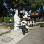 秦の始皇帝の命により不老長寿の霊薬を求めて渡来した徐福さん