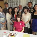 ここでもMIYOKO会長の誕生祝い