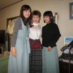 おなじみの3姉妹で!