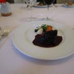 昨日は特に美味しかった牛ほほ肉赤ワイン煮