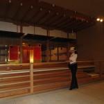 秀吉の黄金の茶室の復元