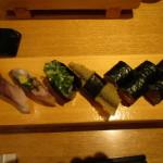 昼はお寿司
