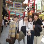 帰りは中華街で美味しいものを食べましょうね!
